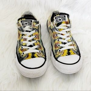 Converse All Star Sunflower Sneakers Size 7